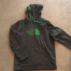 North Face Sweatshirt Hoodie Large